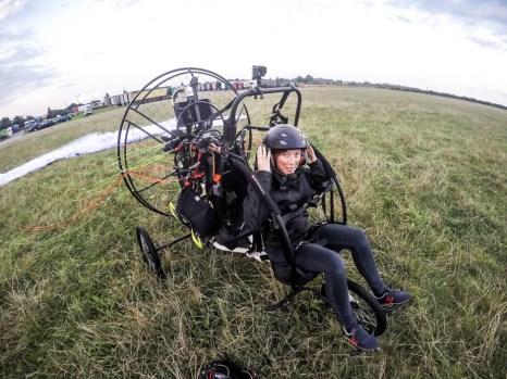 Lot motoparalotnią w Gliwicach 11