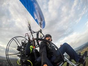 Lot motoparalotnią w Gliwicach 4