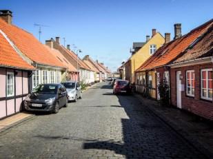 Bornholm Ronne uliczki