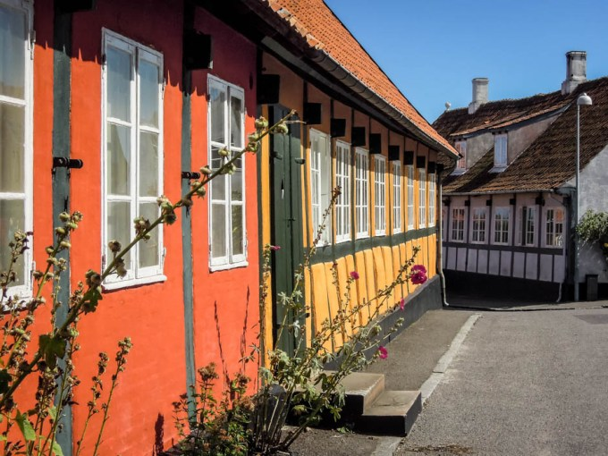 Bornholm uliczki Svaneke