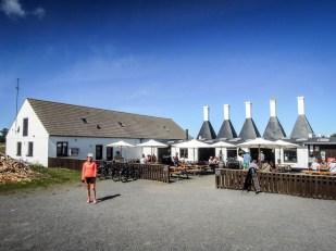 Bornholm wędzarnie w Svaneke