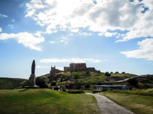 Bornholm zamek Hammershus