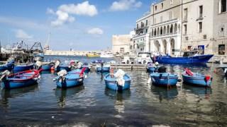 Monopoli a Mare łódki