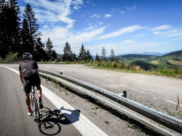 Wycieczka rowerowa wokół Tatr - przestrzenie