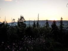 Zachód słońca Gubałówka