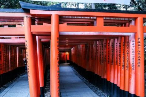 Bramy Fushimi Inari