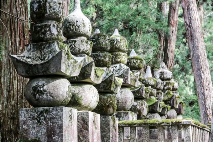 Cmentarz Okunoin Koyasan 3