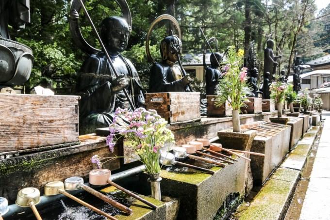 Cmentarz Okunoin Koyasan 6