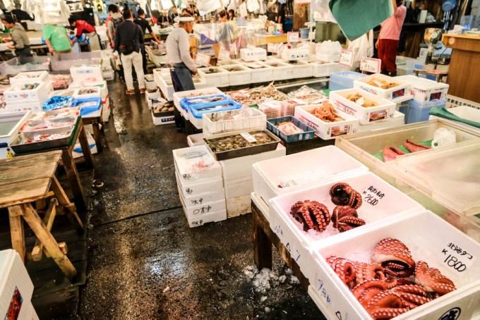 Targ Tsukiji Tokio hala
