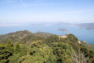 Widok z góry Misem Miyajima 3