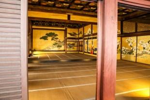 Zamek Nijo-jo Kyoto wnętrze