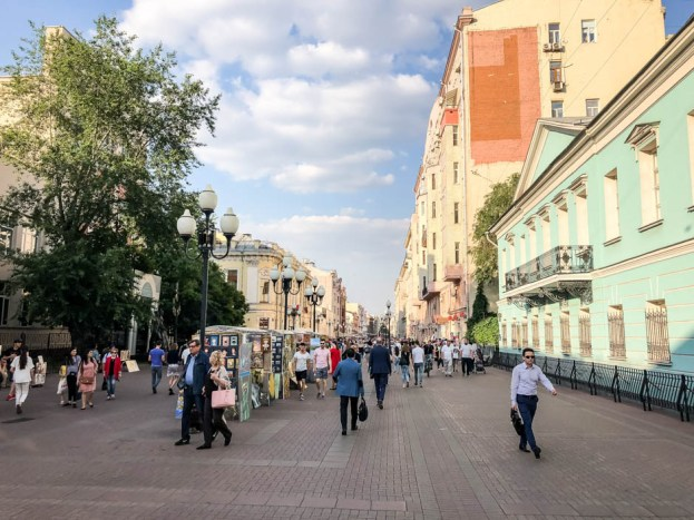 Stary Arbat Moskwa