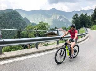 Podjazd na przełęcz Tremalzo
