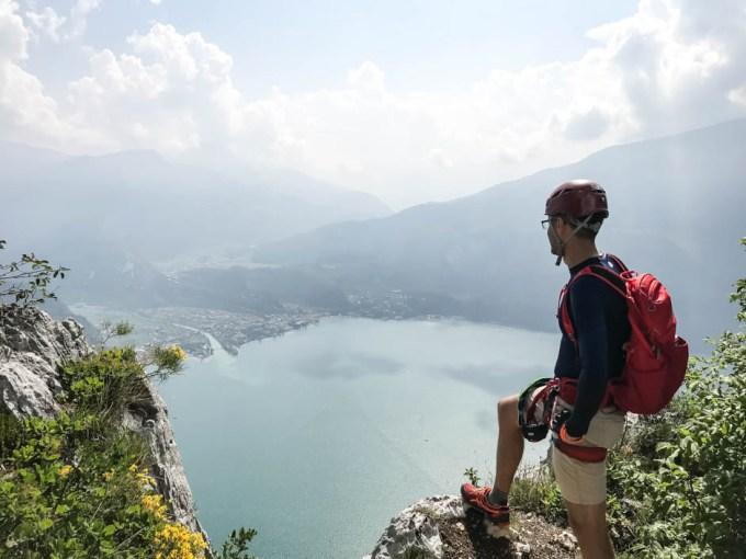 Wspinaczka na ferratach Garda Cima Capi
