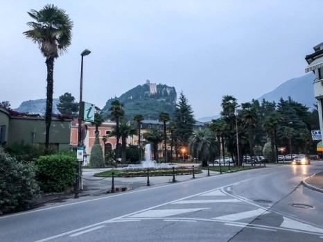 Zamek Arco - widok z miasta