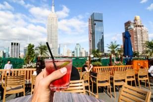 Drinki w 230th Floor Rooftop
