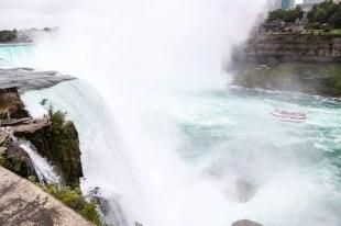 Horseshoe Falls od strony amerykańskiej