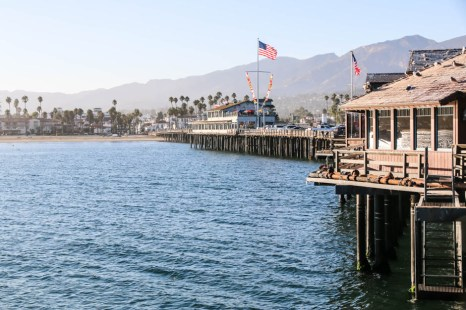 Molo w Santa Barbara
