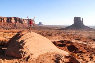 Monument Valley dziki zachód