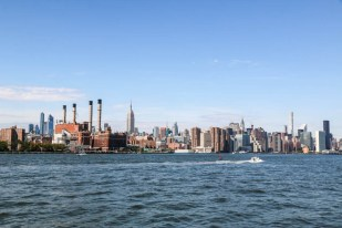 Panorama Środkowego Manhattanu i East River