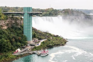 Platforma widokowa na Wodospad Niagara