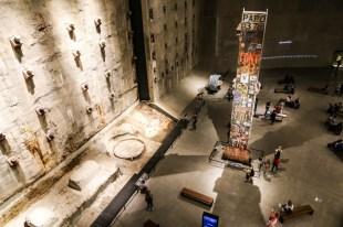 Pozostałości po wieżach WTC