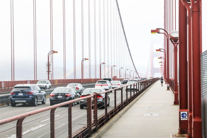 Spacer Golden Gate Bridge