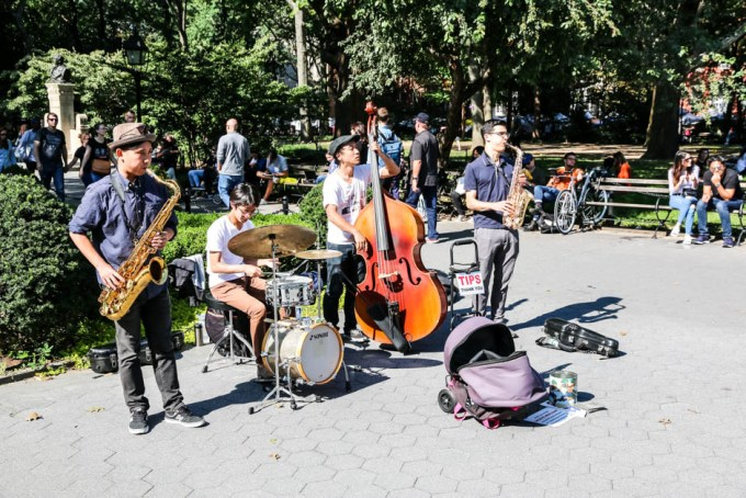 Washington Square Park koncert