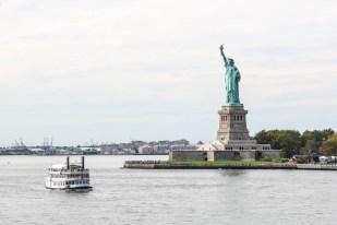 Widok na Statuę Wolności