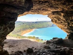 Jaskinia Kalipso Ramla Gozo