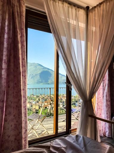 Pobudka nad jeziorem Como