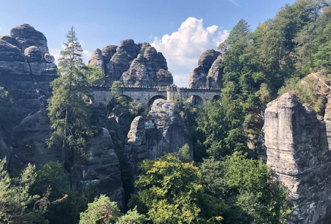 Kamienny most w Bastei