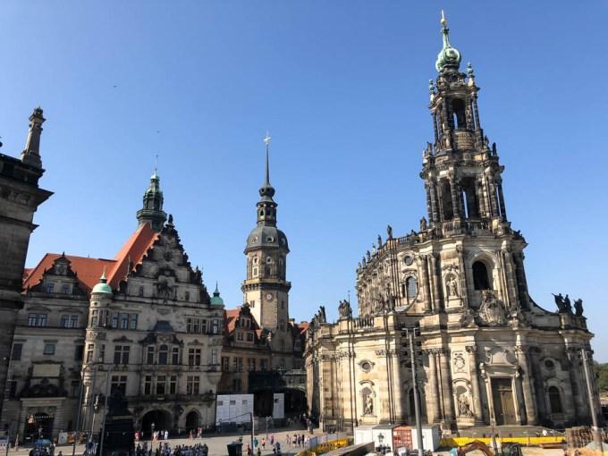 Katedra Świętej Trójcy atrakcja Drezna