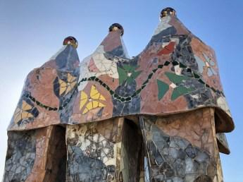 Casa Batllo mozaiki