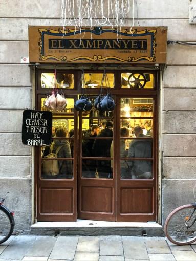 El Xampanyet dzielnica gotycka
