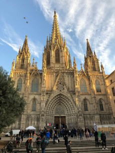 Katedra św Eulali Barcelona