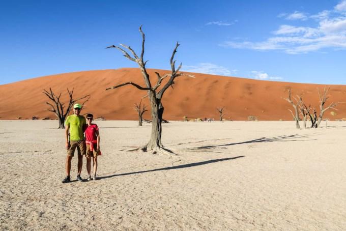 Pustynia Namib Deadvlei