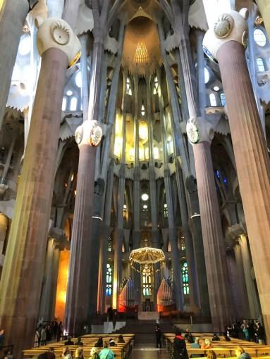 Sagrada Familia Barcelona ołtarz