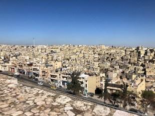 Amman Jordania panorama z cytadeli