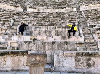 Amman w teatrze rzymskim