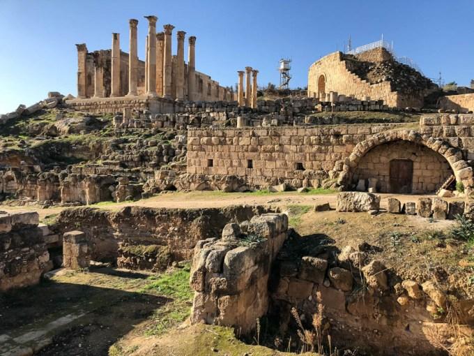 Dżerasz świątynia Zeusa