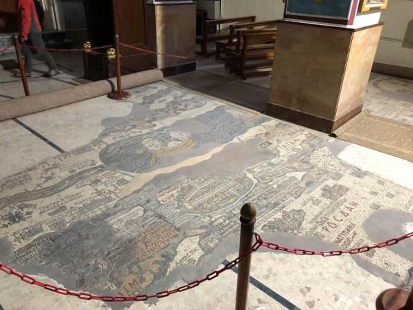 Mozaika Ziemi Świętej Kościół św. Jerzego Madaba