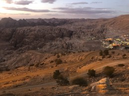 Panorama Petry której nie widać i Wadi Musa