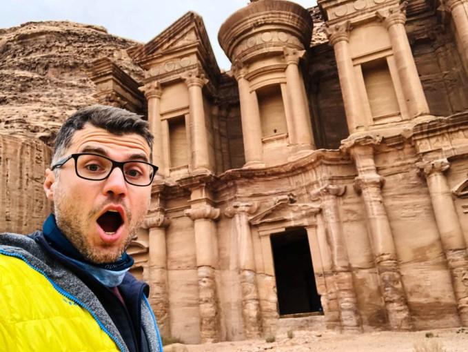 Petra Jordania Monastyr