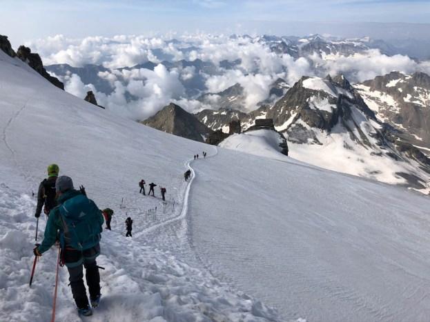 Gran Paradiso atak szczytowy 11