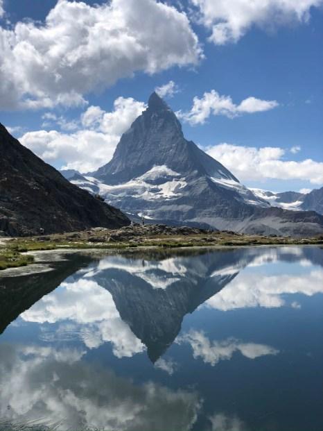 Zermatt Matterhorn Riffelsee