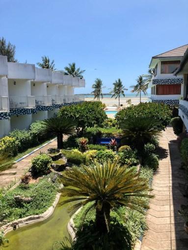 Tanzania Mbezi Beach hotel ogrod