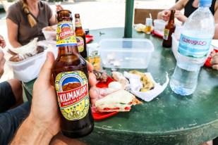 Tanzania PN Tarangire lunch piwko
