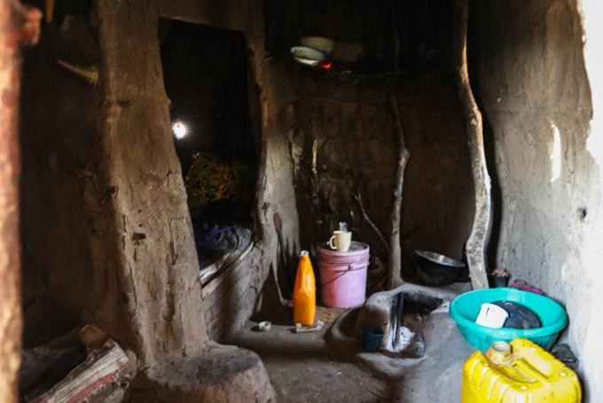 Tanzania wioska Masajow dom