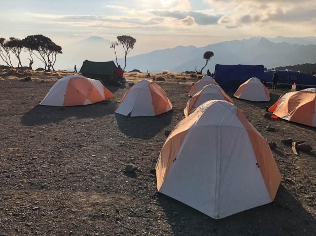 Trekking Kili shira camp oboz